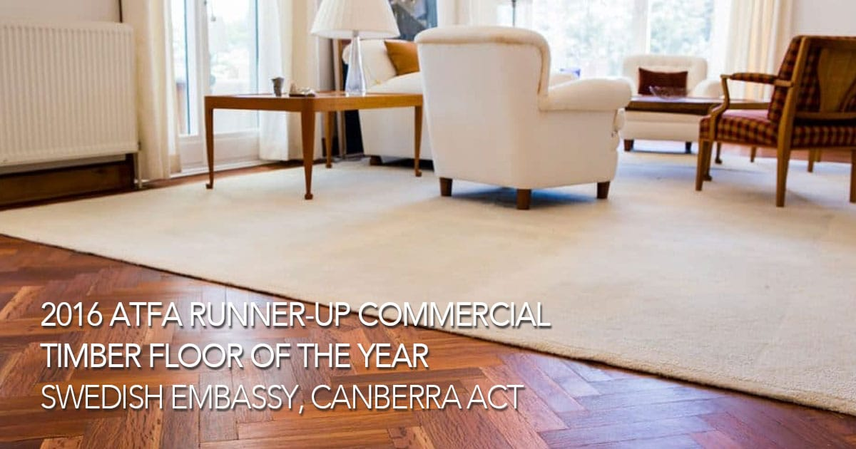 runner-up-ATFA-commercial timber floor of the year