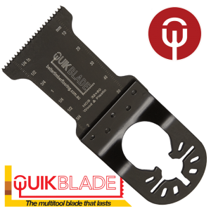 Quikblade fine tooth multi-tool blade