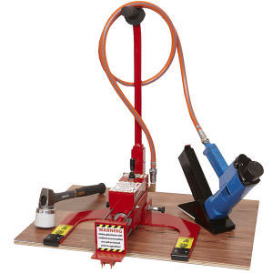QuikBrace timber floor machine