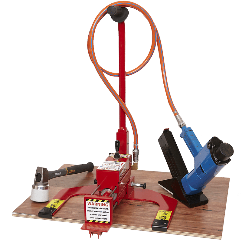 QuikBrace flooring machine