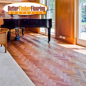 Chevron Pattern Parquetry Panels