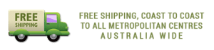 Free Shipping to Metro Areas, Australia