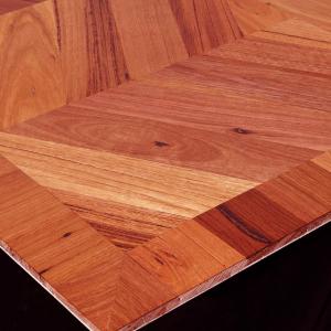 Parquet Panels Chevron Pattern in Reclaimed Wood