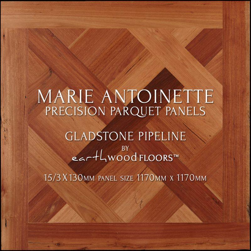 Parquet Flooring panel feat. Marie Antoinette pattern