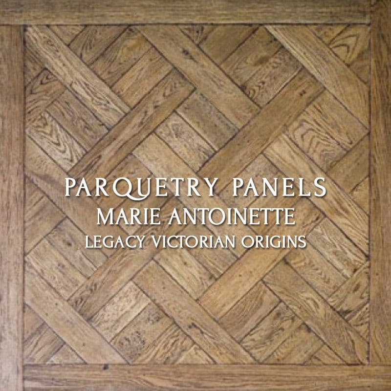 Parquetry Panel, Marie Antoinette, Legacy Victorian Origins