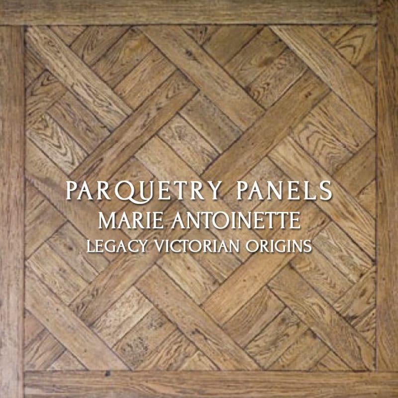 Parquetry Panel, Marie Antoinette, Legacy Victorian Origins