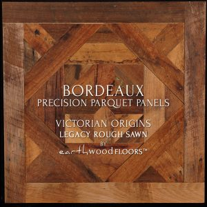 Rough Sawn Parquet Flooring panel feat. Bordeaux pattern - OGI
