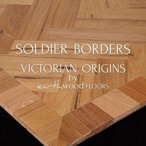 130mm Soldier Borders Parquet Flooring edge