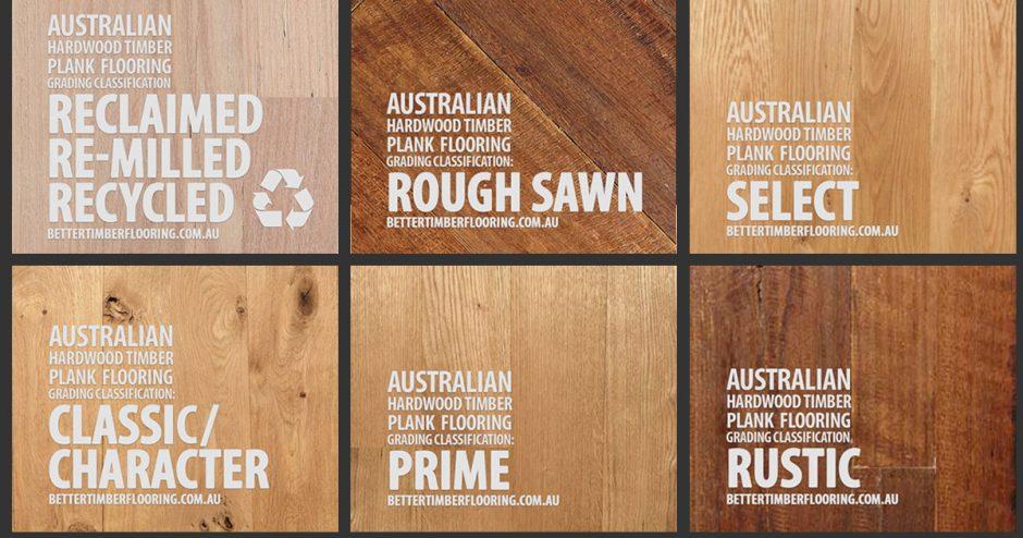 Grading Criteria Australian Hardwood Timber Flooring