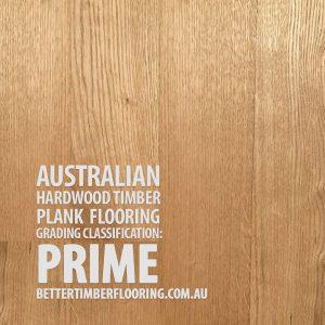 Prime Grade Hardwood Timber Plank Flooring