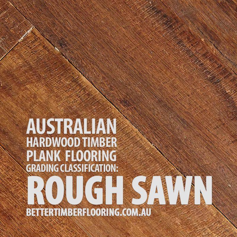 Rough Sawn Grade Hardwood Timber Plank Flooring