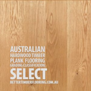 Select Grade Hardwood Timber Plank Flooring