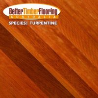Turpentine, Australian Hardwood Species