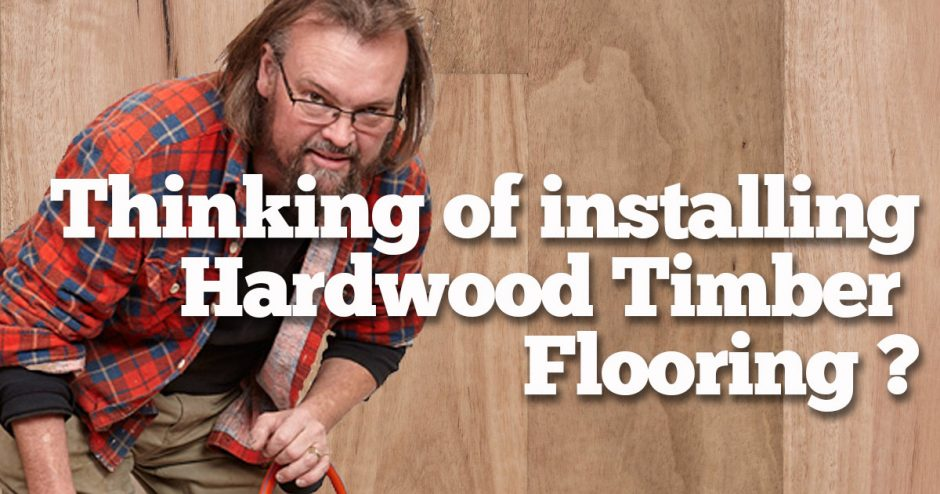 Hardwood Flooring. Thinking of installing?