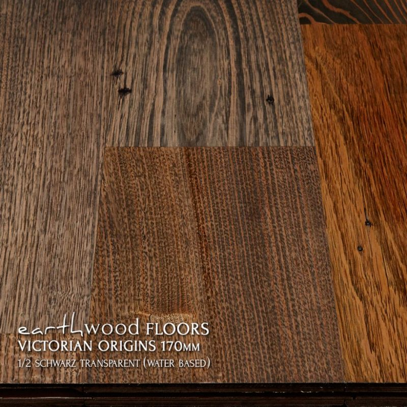 170mm pre-finished engineered flooring 50% Black (schwarz)