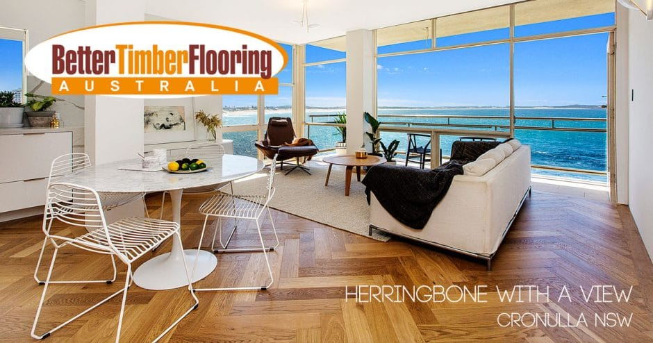 Herringbone With a Million Dollar View Project Gallery