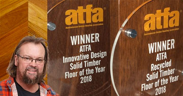 Multi Award Winners at the ATFA Solid Timber Floor Of The Year Awards 2018
