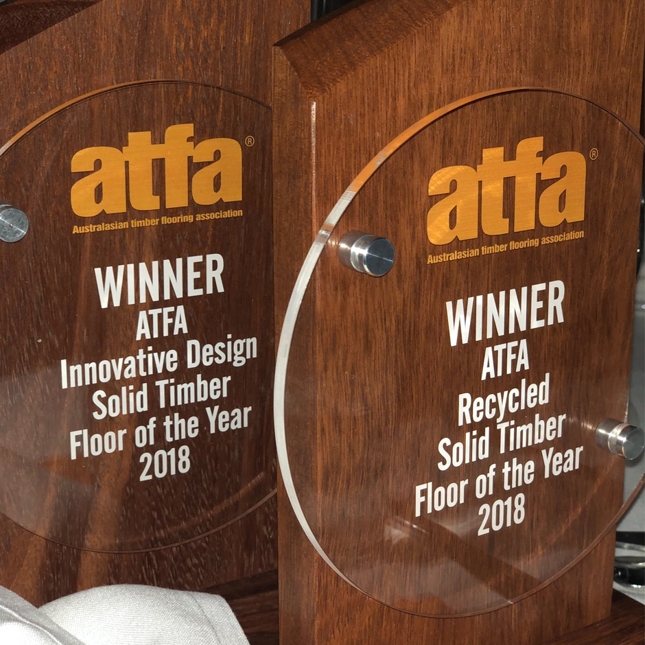 Multi Award Winners ATFA Floor of the Year 2018