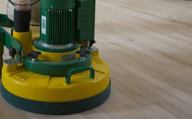 Floor sanding polishing
