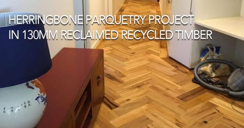 Herringbone Parquetry Project by Paul Gaunt
