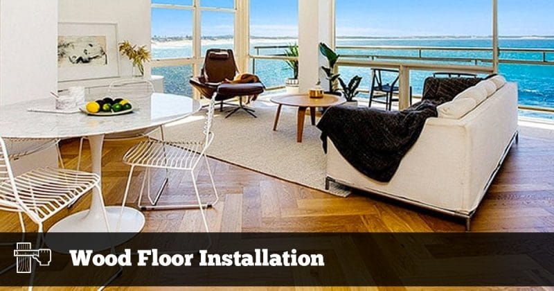 Wood Floor Installation