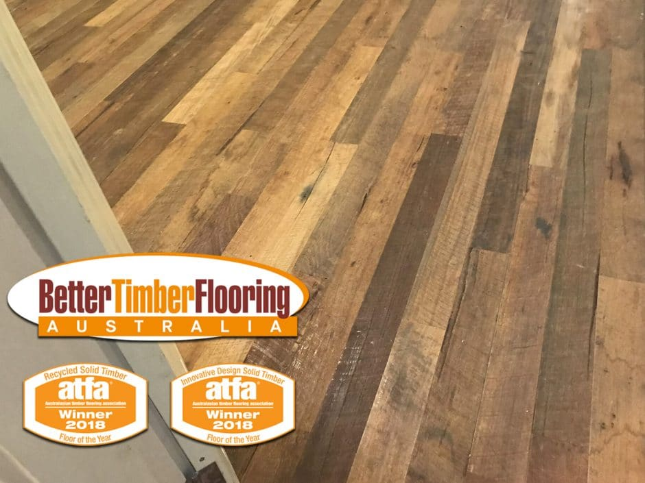 ATFA Recycled Solid Timber Floor of the Year 2018