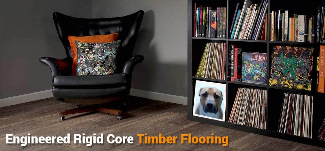 Engineered Rigid Core Wood Flooring