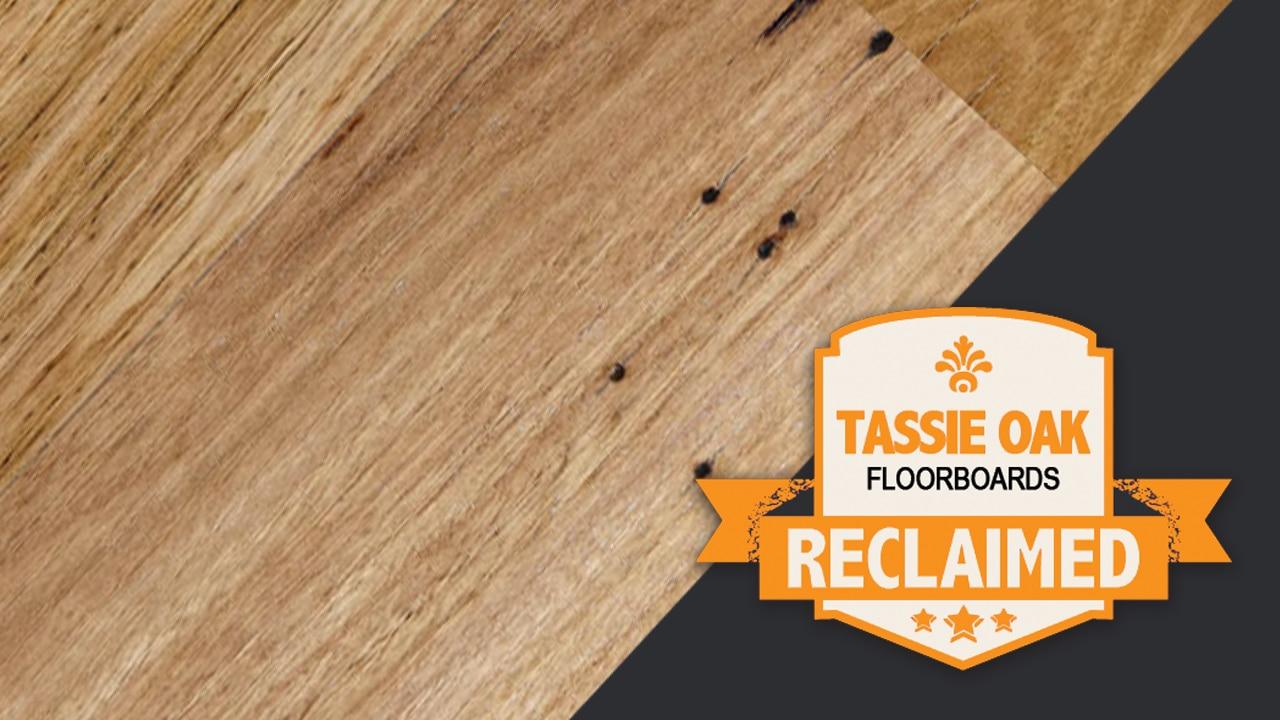 Reclaimed Tassie Oak Floorboards