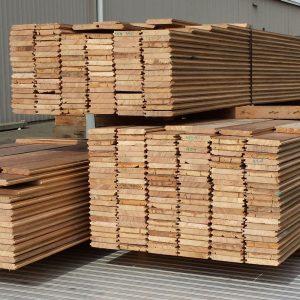 Recycled Tasmanian Oak Solid Flooring 108mm x 22mm