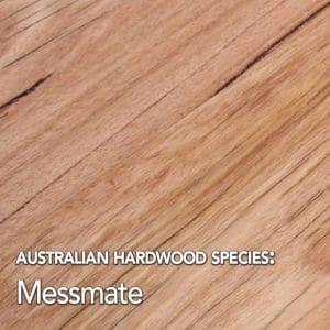 Messmate. Australian hardwood species swatch