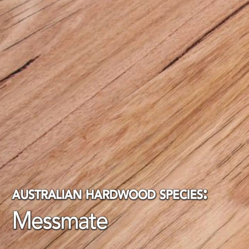 Messmate. Australian hardwood species swatch