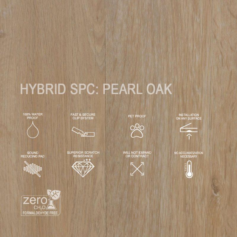 HYbrid SPC Pearl Oak Features