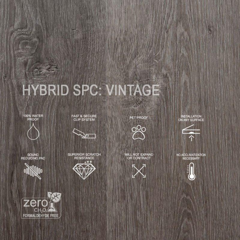 HYbrid SPC Vintage Features