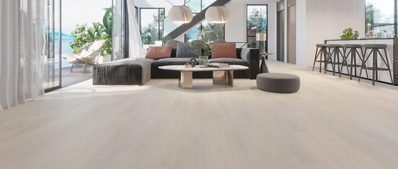 laminate flooring - coastal oak