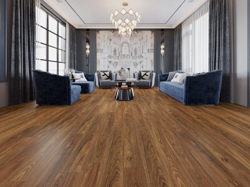 Spotted Gum Laminate Flooring Project