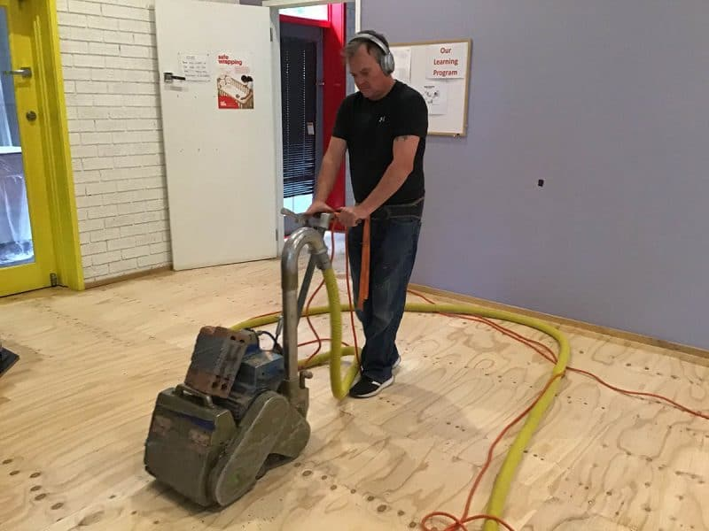 Floor sanding services Canberra